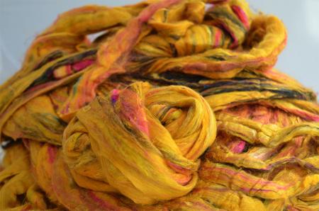 Jedwab Sari Wild Flower  (1)