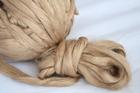 Jedwab morwowy brązowy (2)